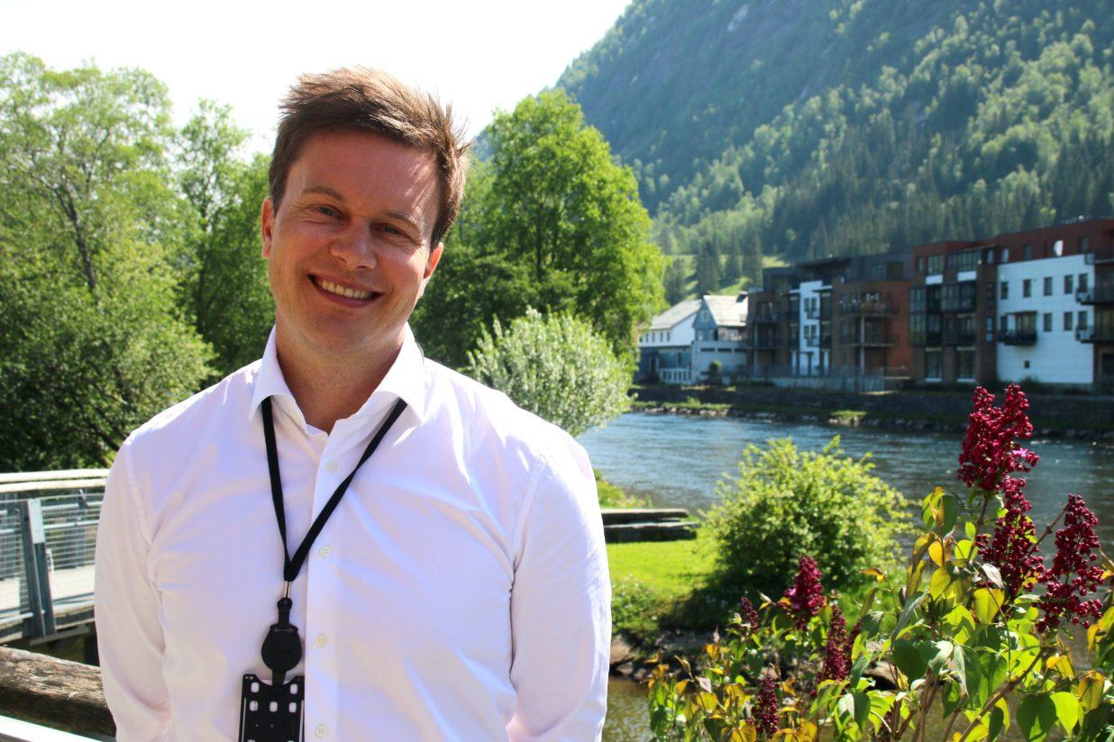 Bilde for Han  er  den  nye  leiaren:  Møt  Frank  Robert  Klakegg