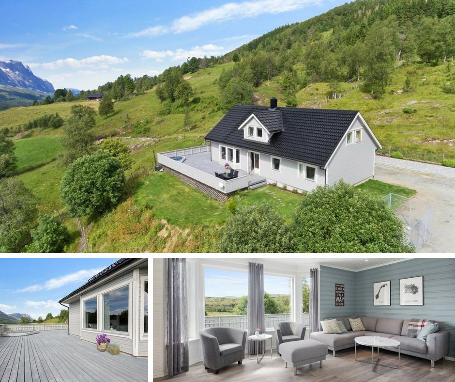 Bilete for Fire  hus  med  hage  i  Førde